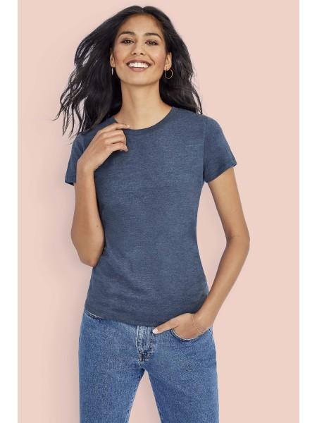 Женская футболка приталенного кроя с круглым вырезом IMPERIAL FIT WOMEN-02080