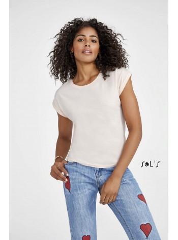 Женская футболка с круглым воротом SOL'S MELBA-01406